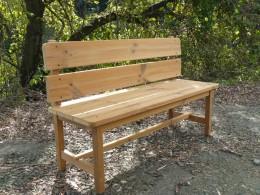 サーモウッド木製ガーデンベンチ